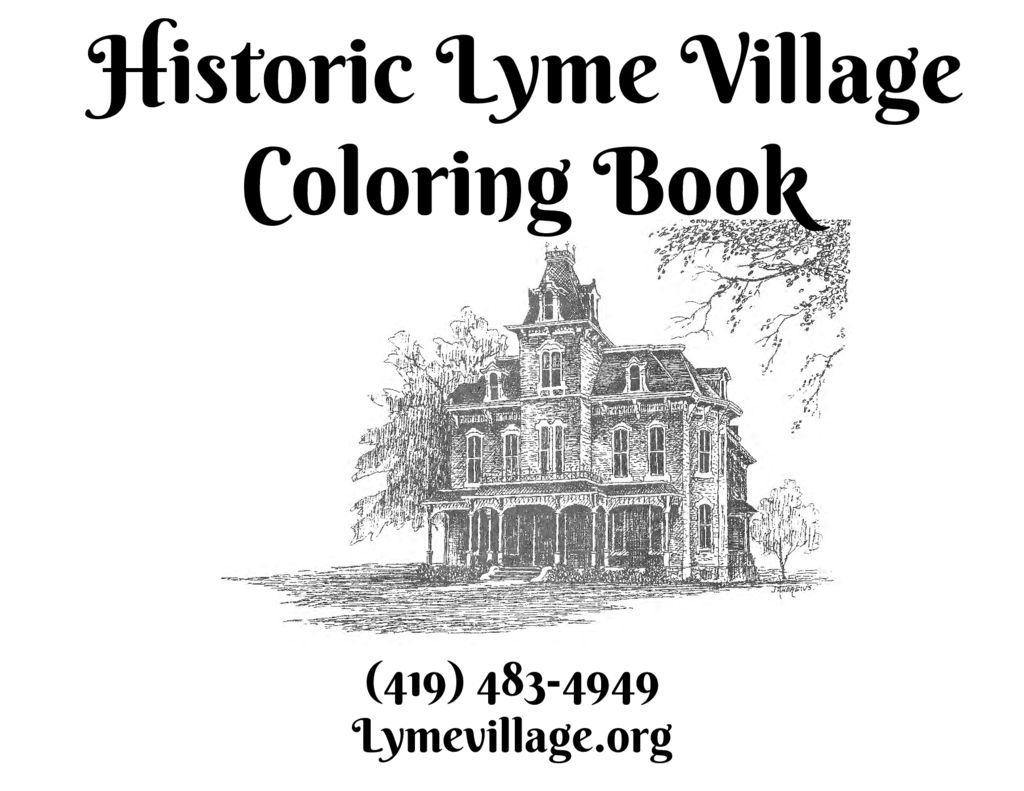 thumbnail of Historic-Lyme-Village-Coloring-Book