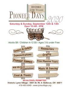 thumbnail of Pioneer Days 2020 flyer